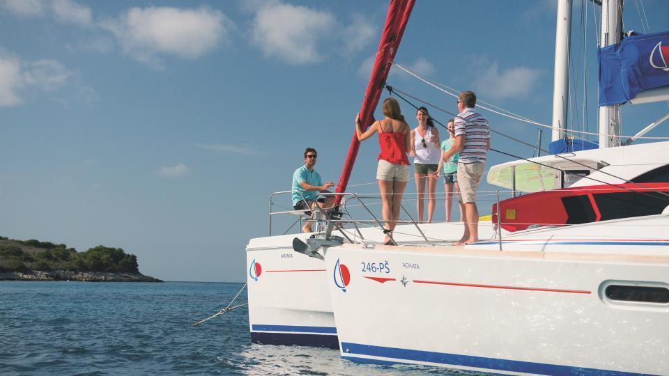 Flottille entre amis en Croatie
