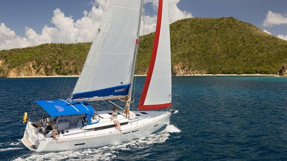segelboot mieten auf virgin gorda