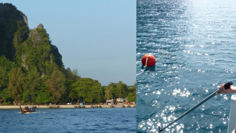 Reilay Beach, Thailand