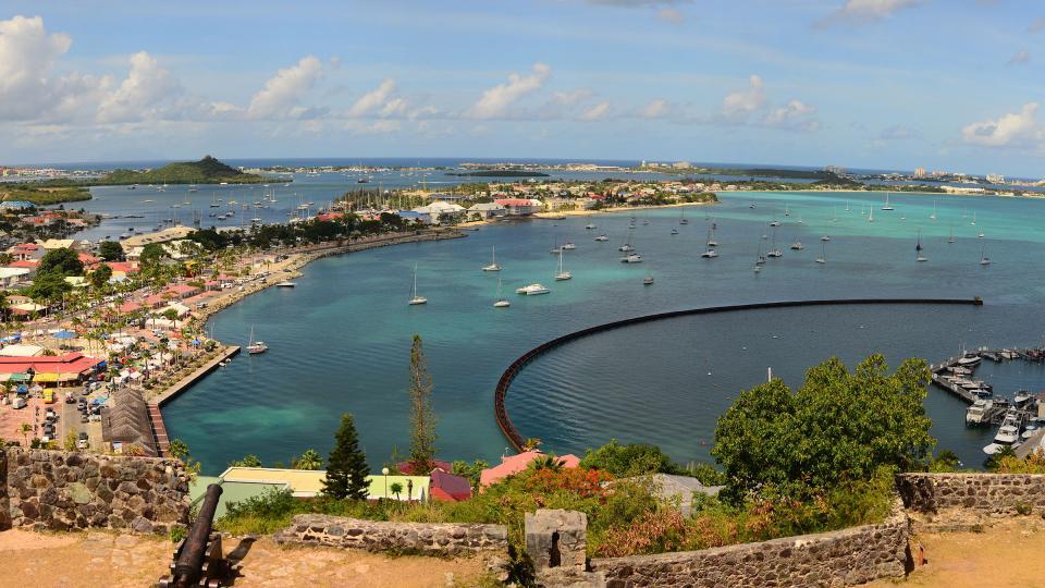 Marina Fort Luis - St. Martin