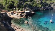 Little village with restaurant and anchorage on Mallorca